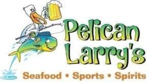 Pelican Larry's horizontal logo for website