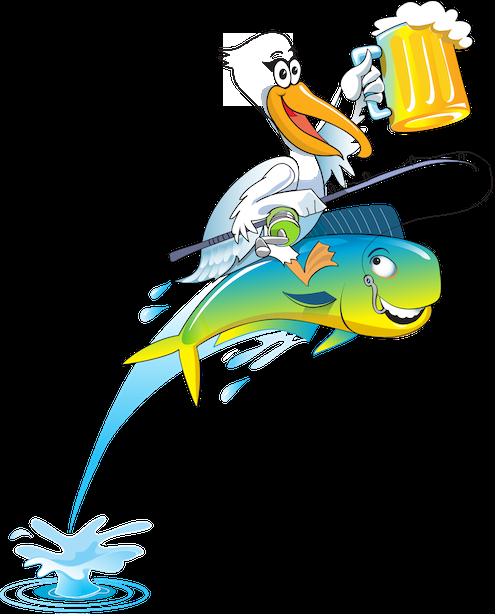 Pelican Larry logo