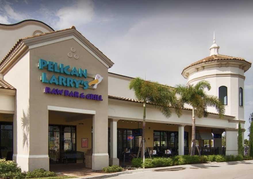 Exterior of Pelican Larry's